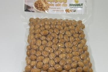 Đậu phộng nước cốt dừa - Hút chân không 500gr